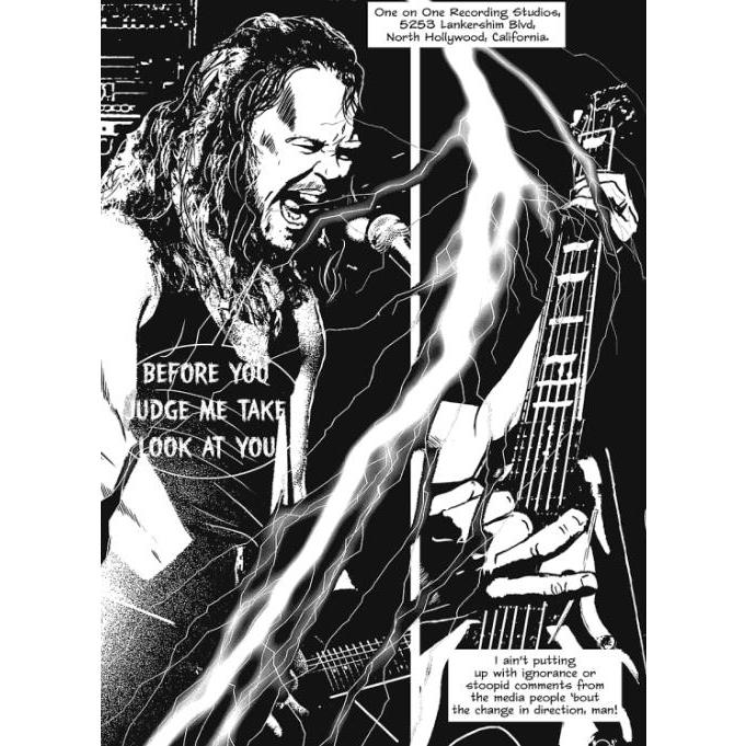 Metallica Nothing Else Matters graphic novel review