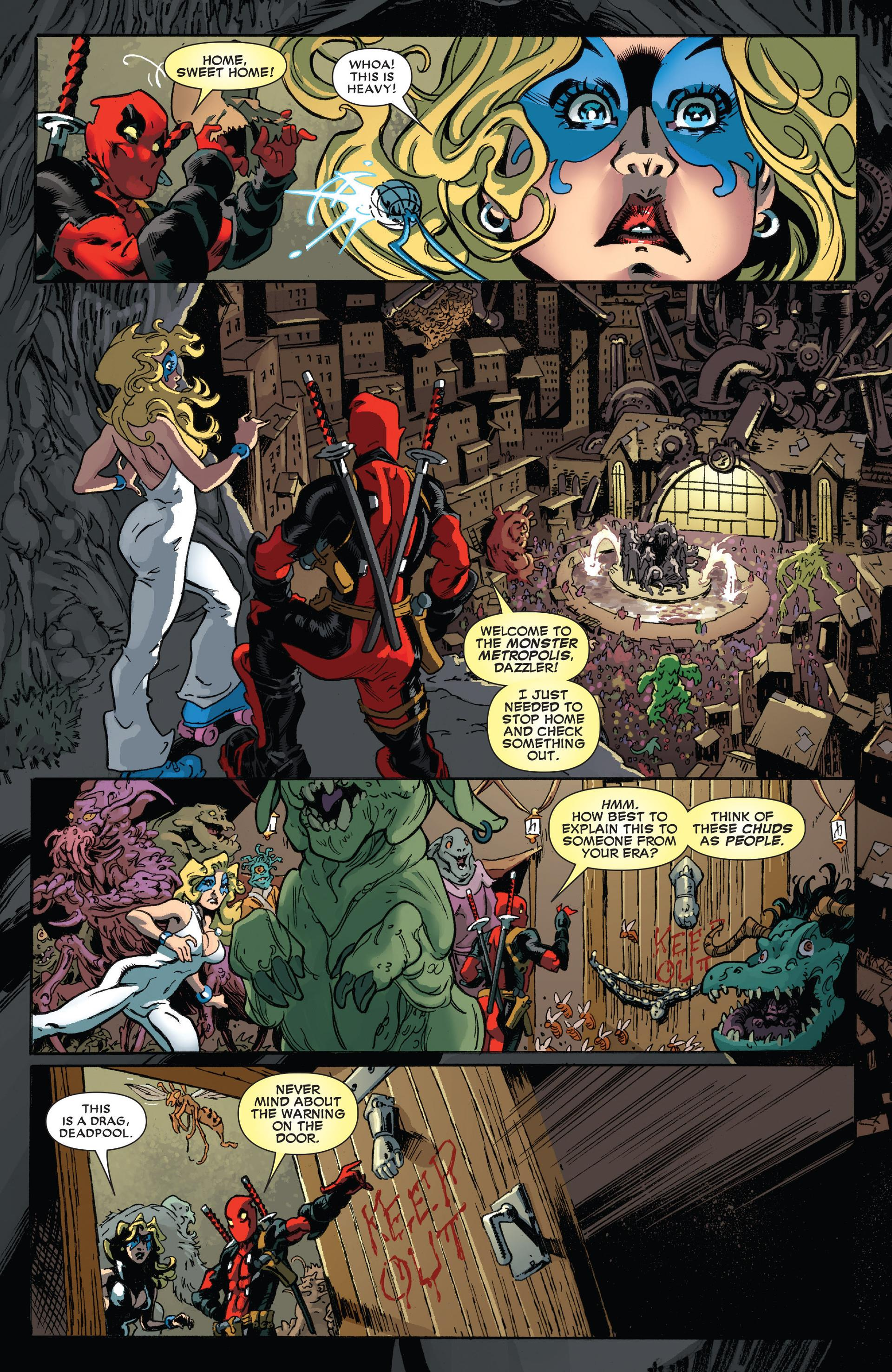 Deadpool Original Sin review