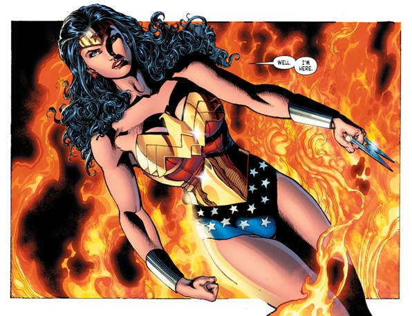 Sensation Comics featuring Wonder Woman 1 review