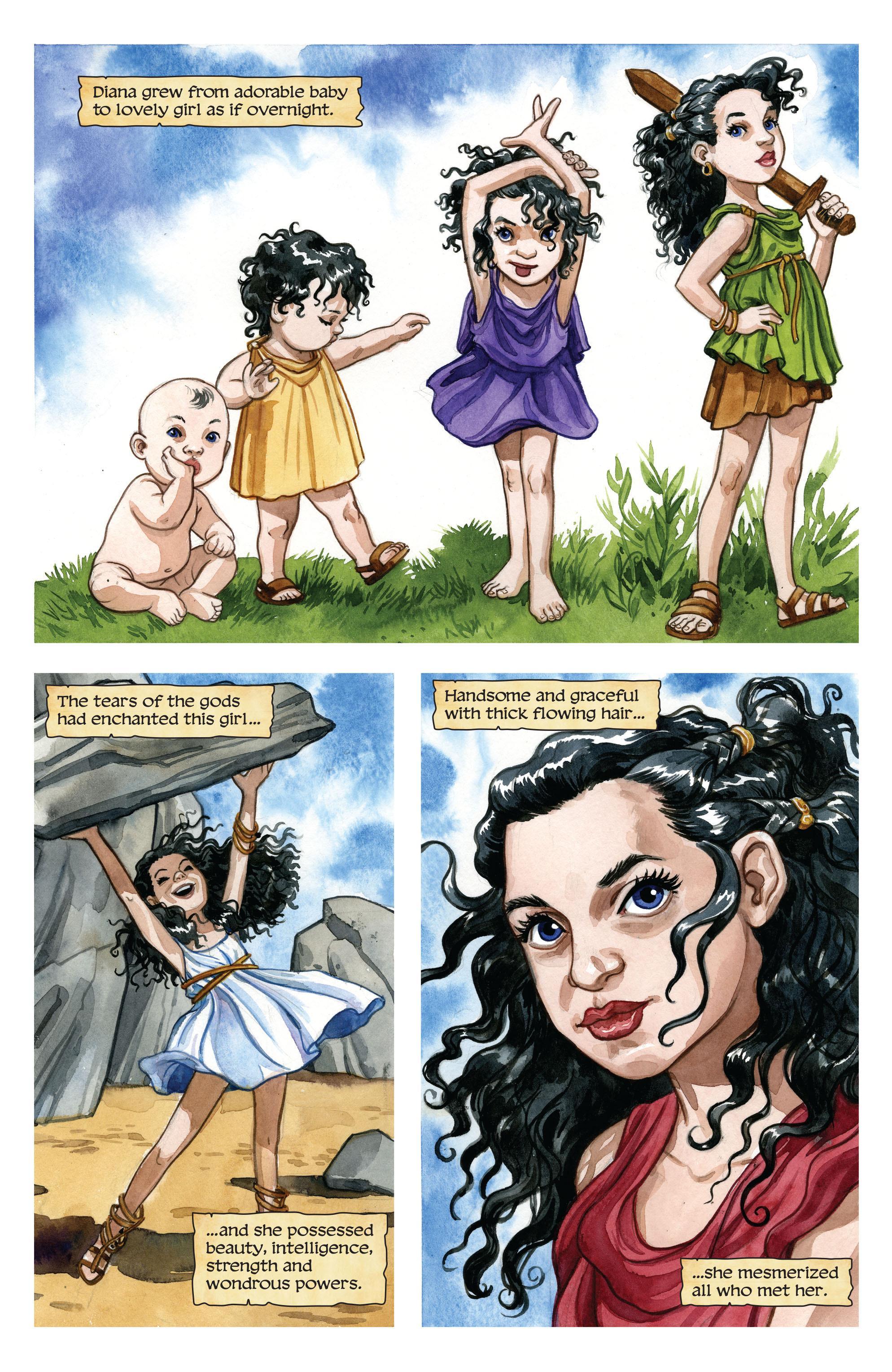 Wonder Woman The True Amazon review