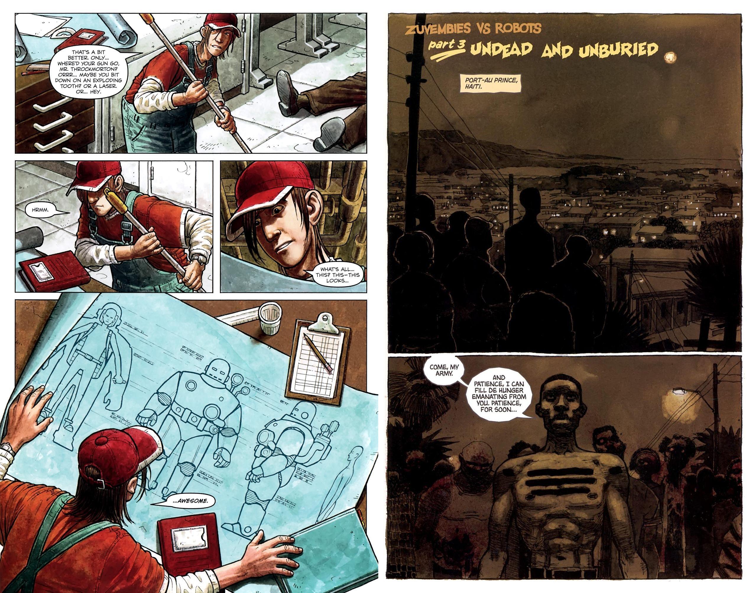 Zombies vs Robots Aventure review