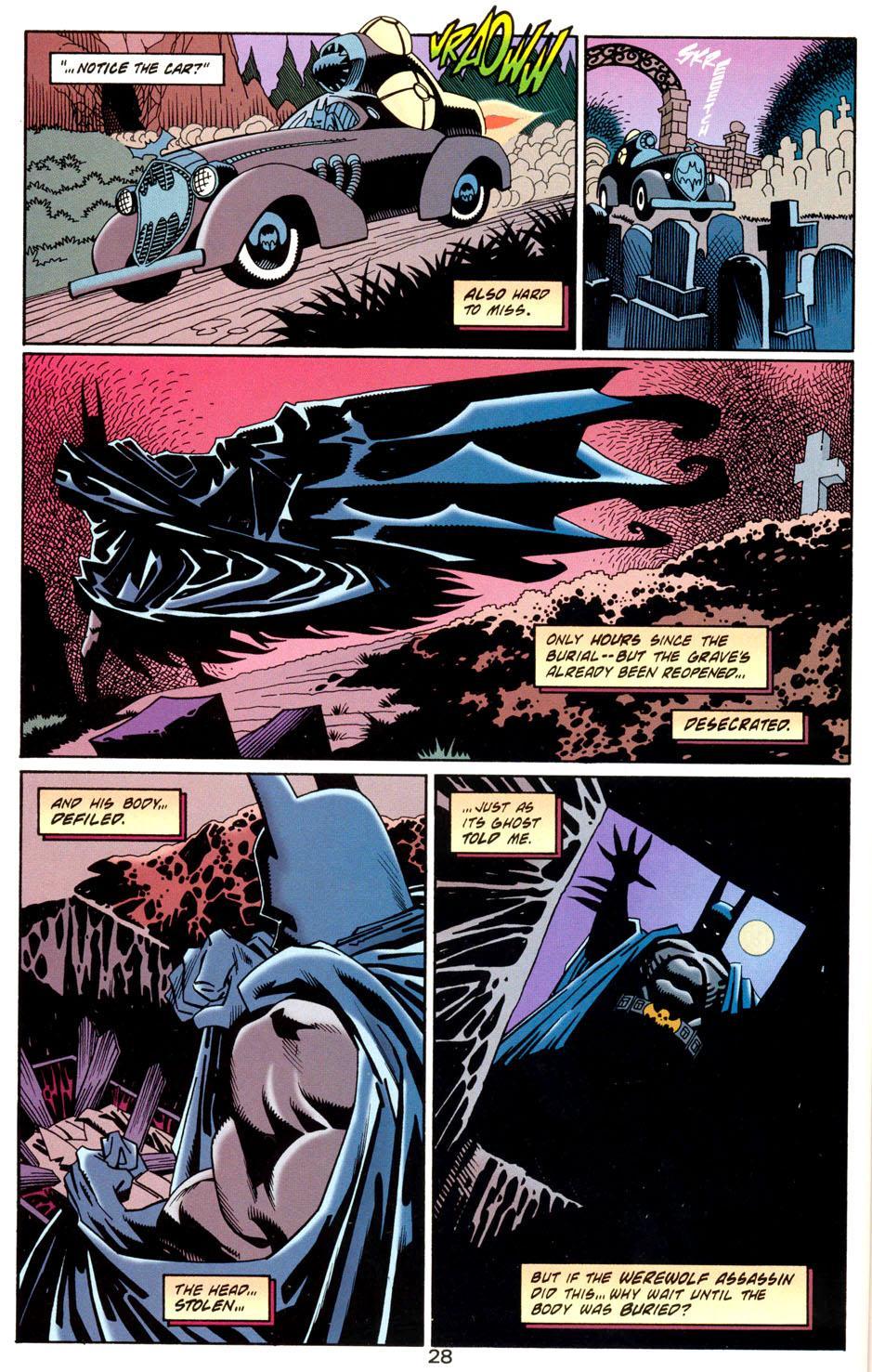 Batman Haunted Gotham review