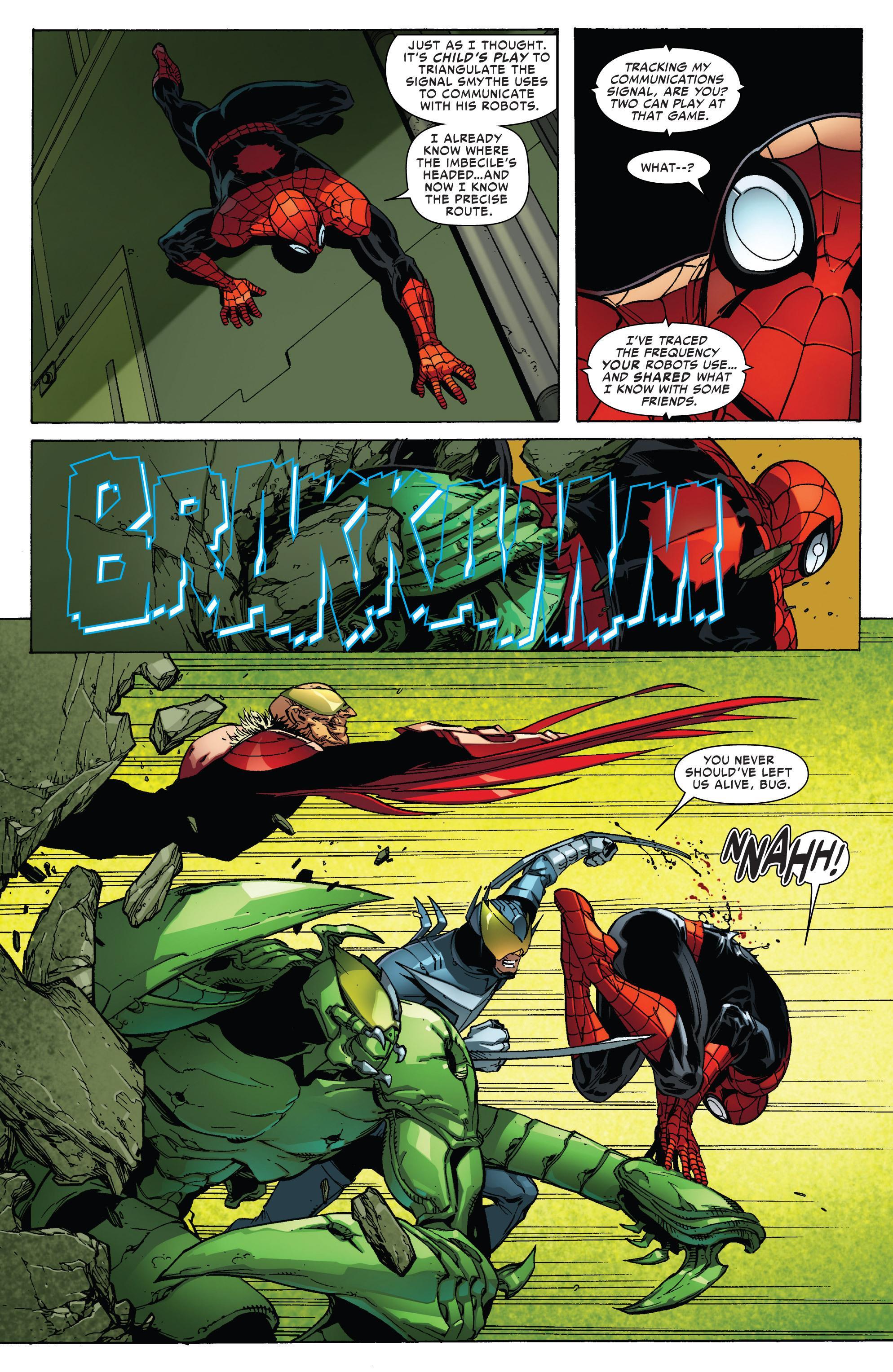 The Superior Spider-Man 3 No Escape review