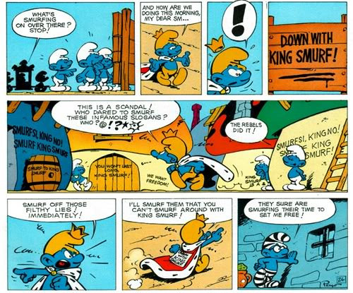 The Smurf King review
