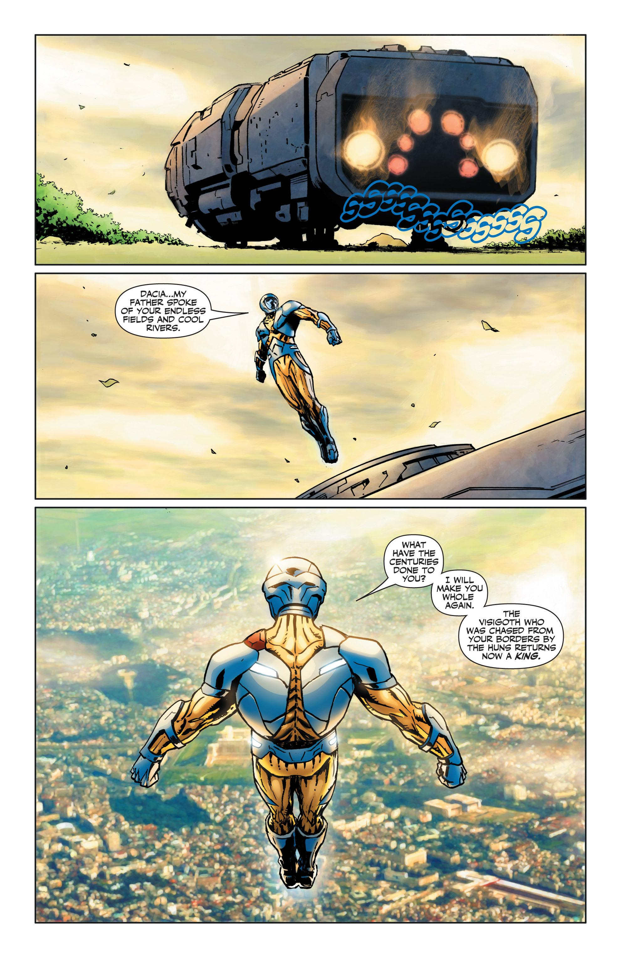 X-O Manowar Homecoming review