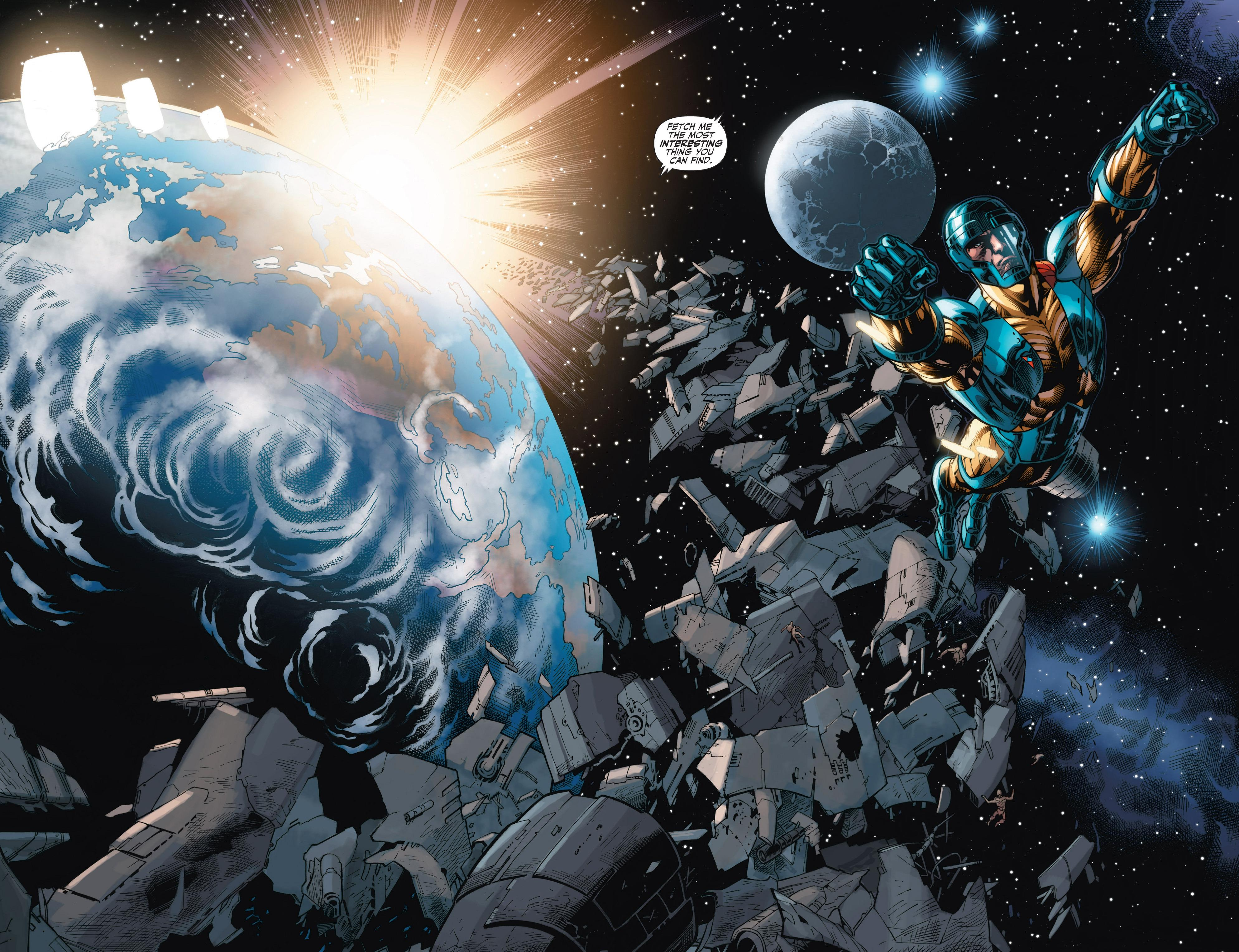 X-O Manowar - Prelude to Armor Hunters review