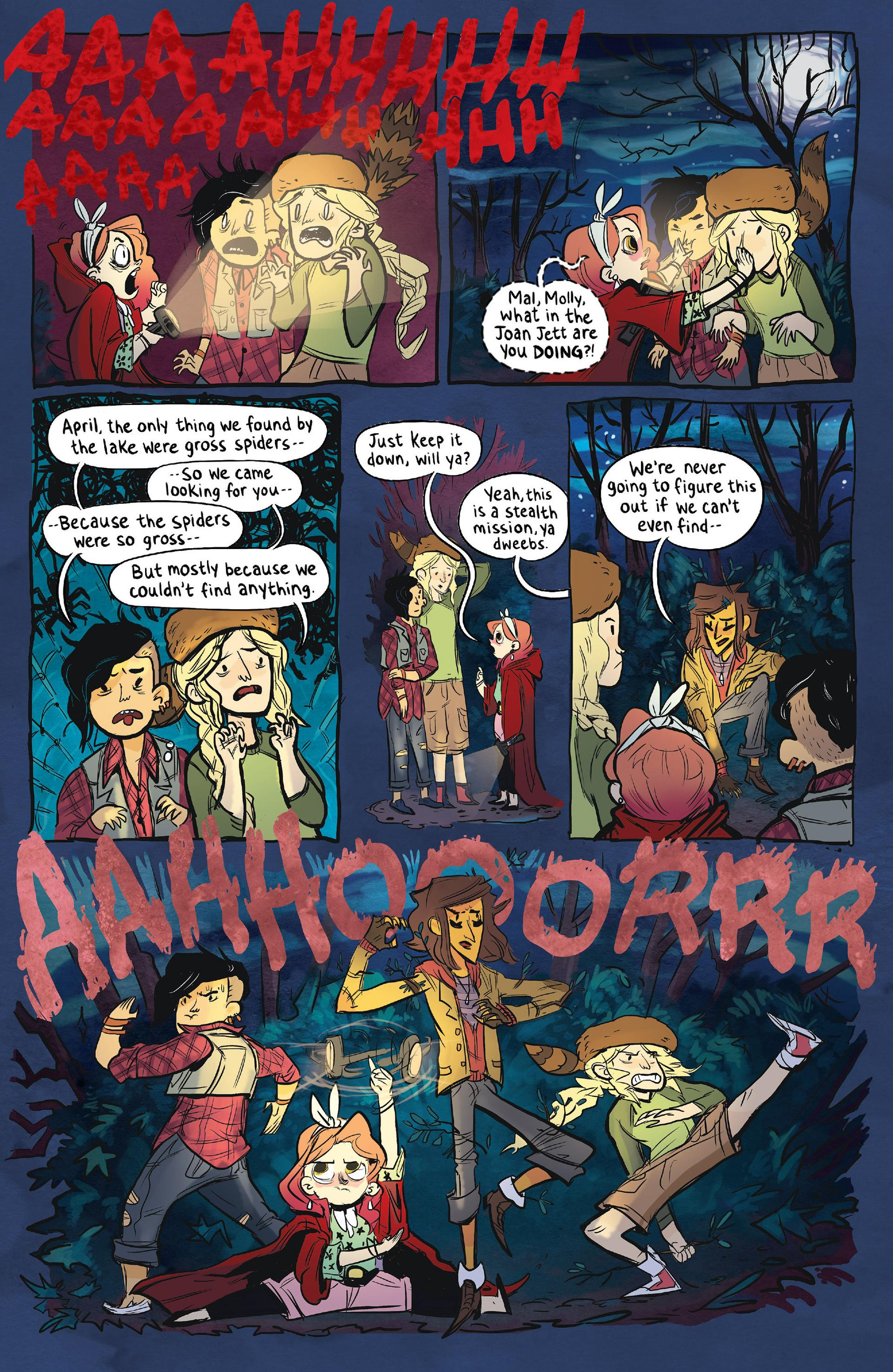 Lumberjanes 1 Beware the Kitten Holy review
