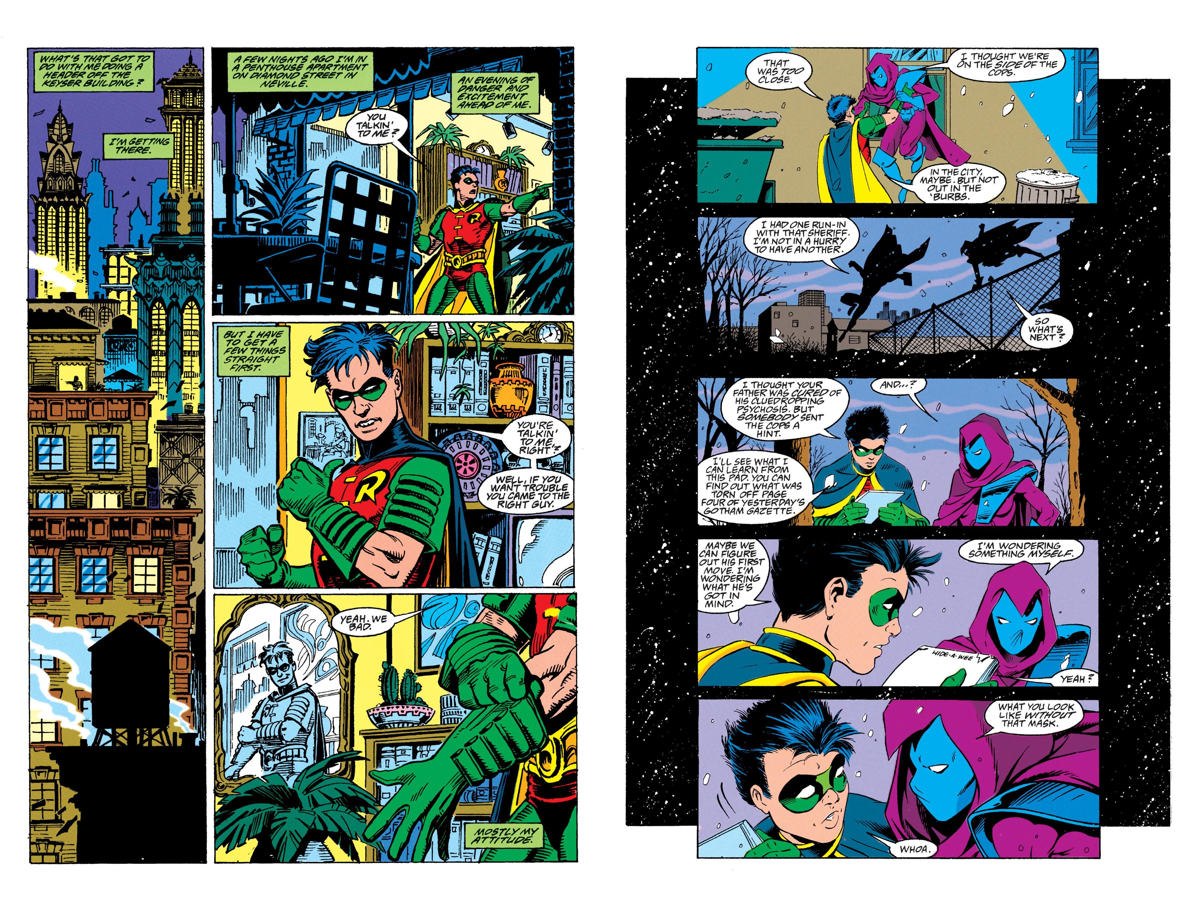 Robin Solo graphic novel review