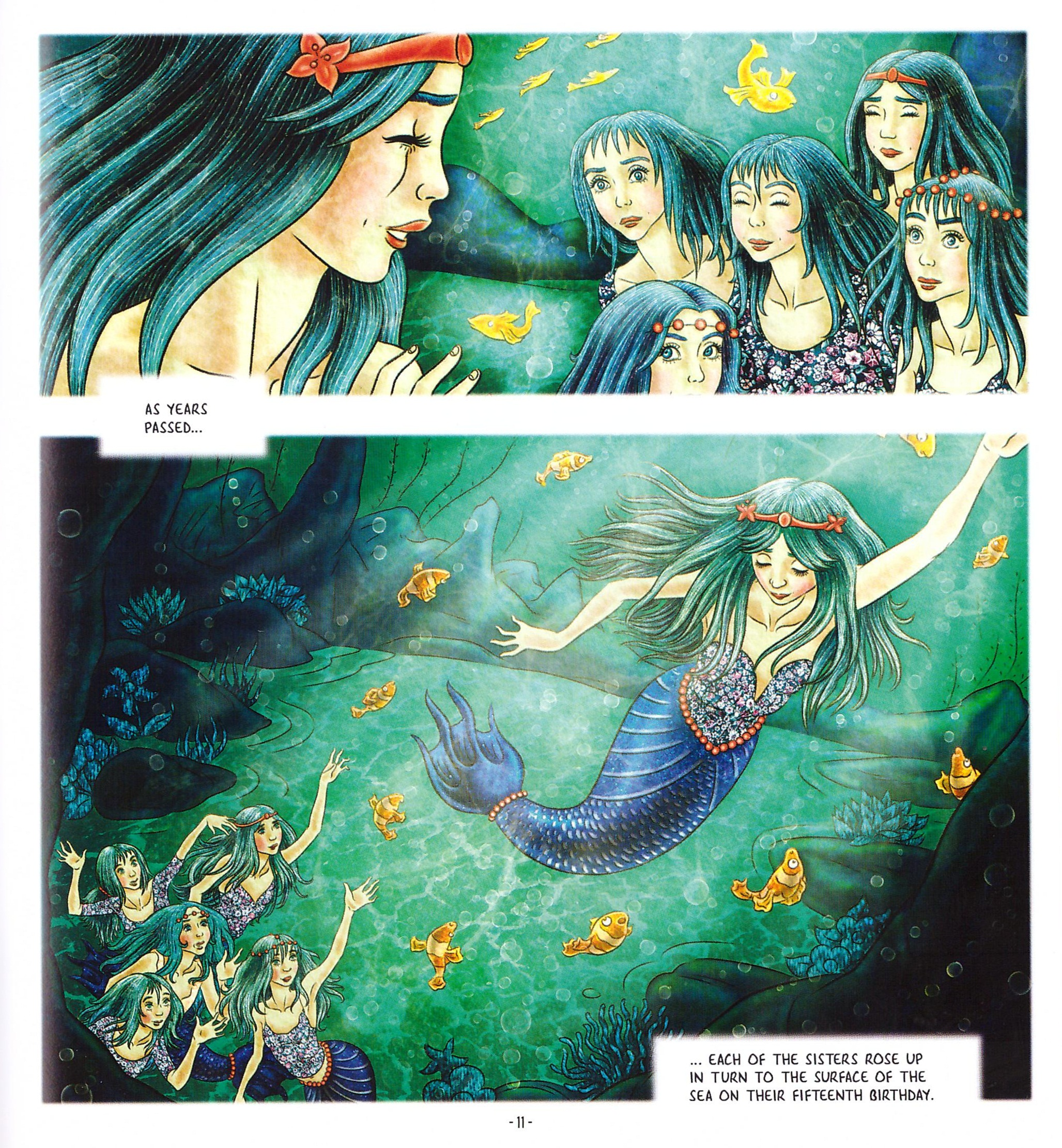 The Little Mermaid graphic novel review