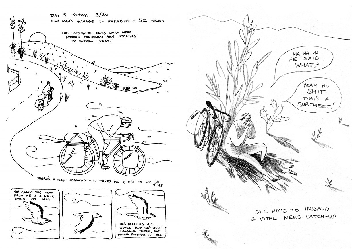 You & a Bike & a Road by Eleanor Davis review