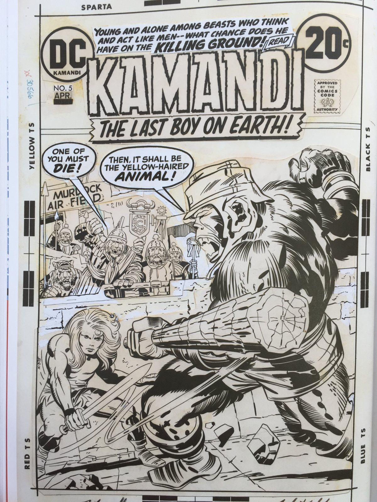 Jack Kirby Kamandi Artist Edition review