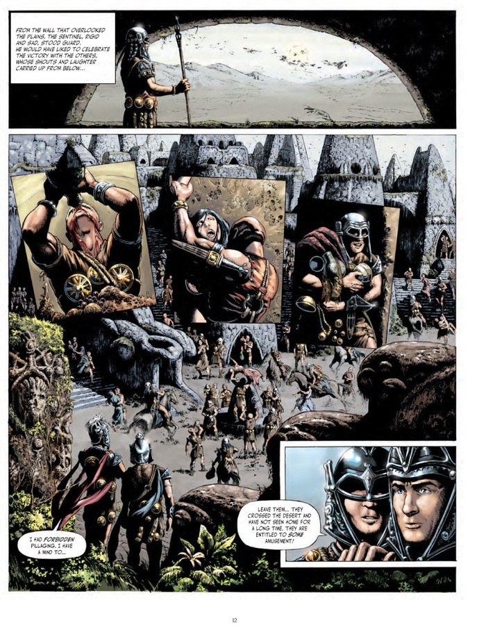 Armies graphic novel review