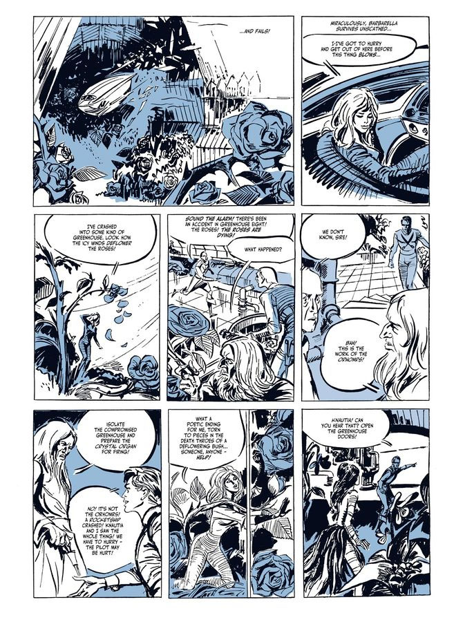 Barbarella graphic novel review