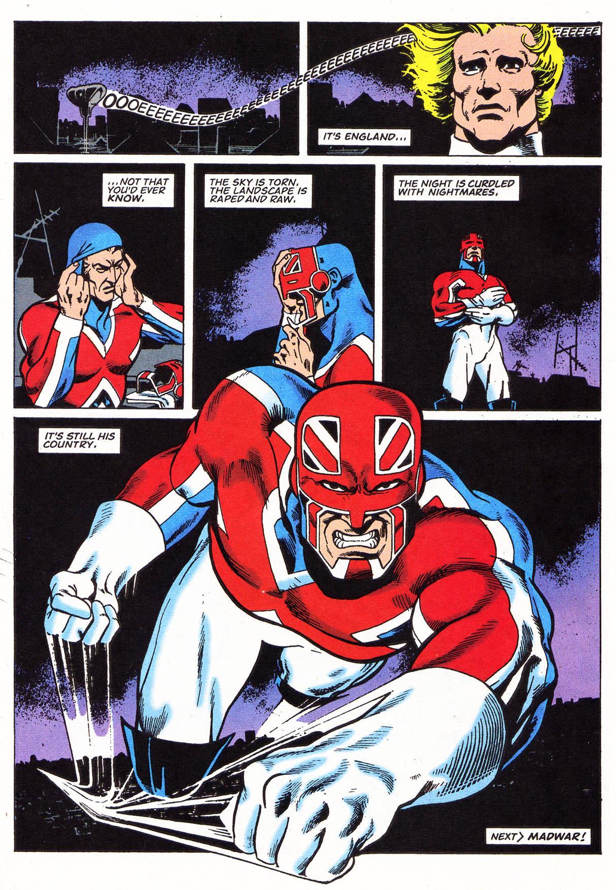 Captain Britain Omnibus review