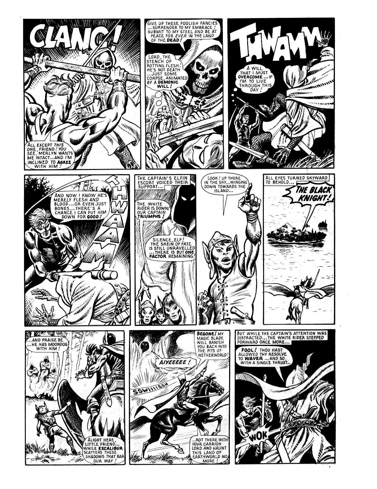 Captain Britain Siege of Camelot review