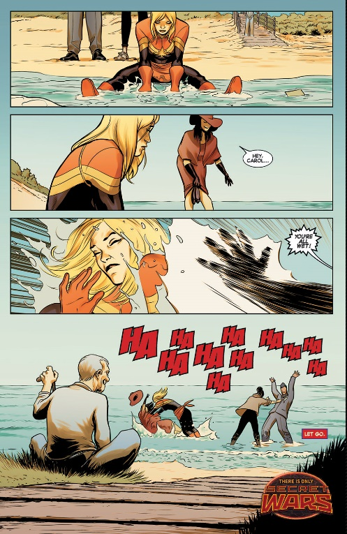 Captain Marvel Earth's Mightiest Hero Volume 4 review sample image