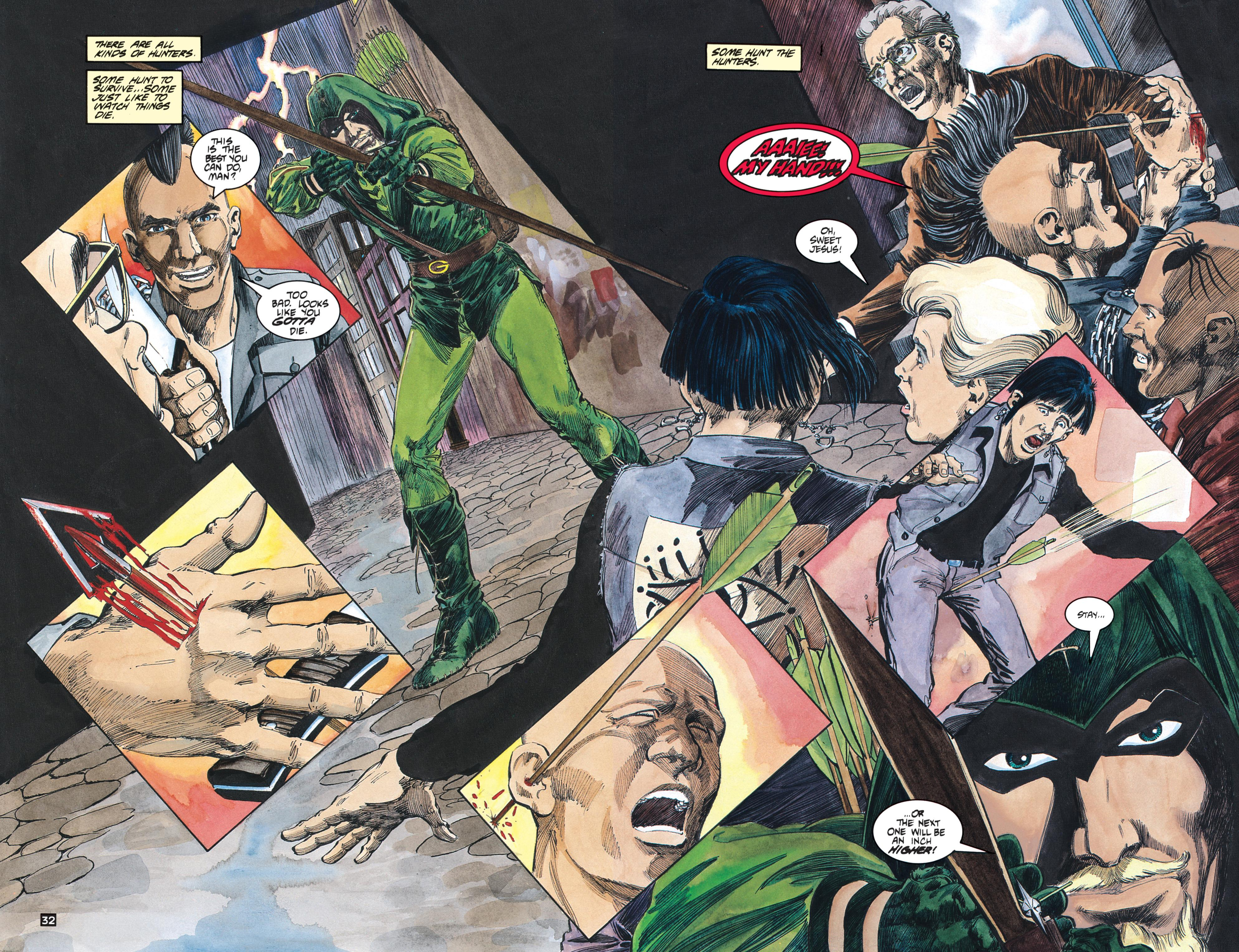 Green Arrow The Longbow Hunters review