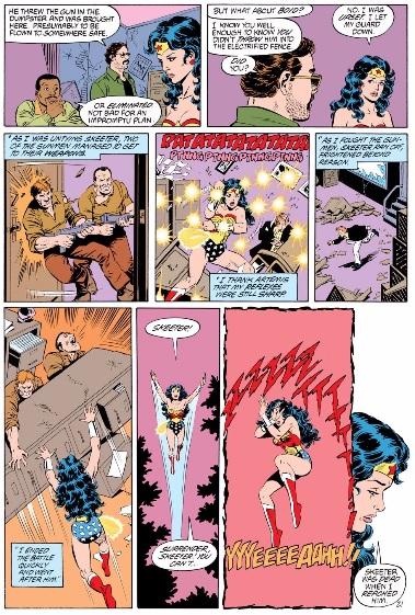 Wonder Woman by George Perez volume 2 review sample image