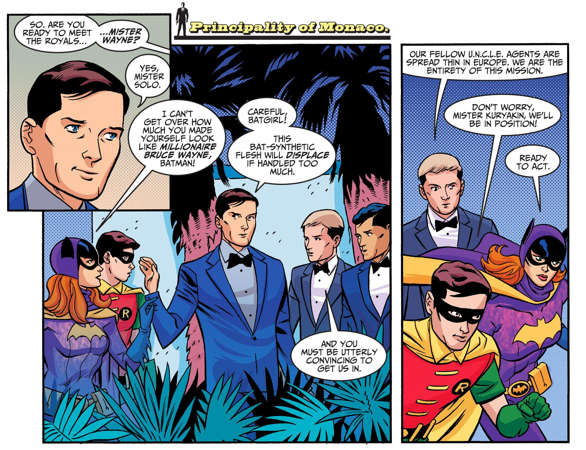 Batman '66 Meets the Man From U.N.C.L.E review