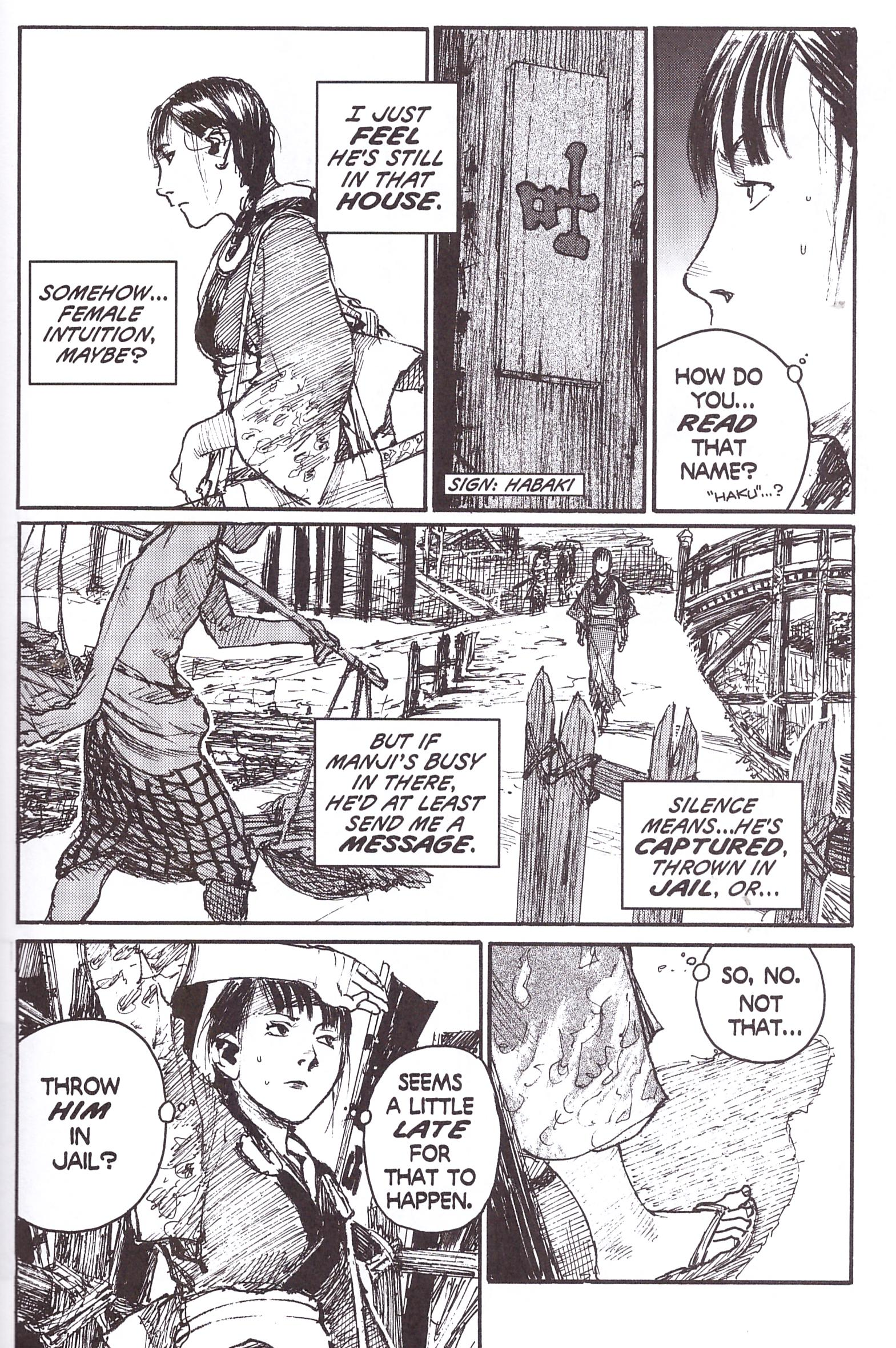 Blade of the Immortal 16 Shortcut review