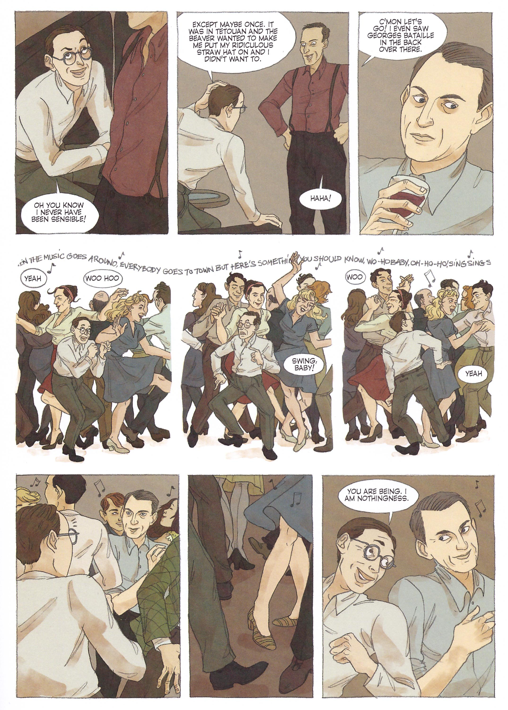 Sartre graphic novel review