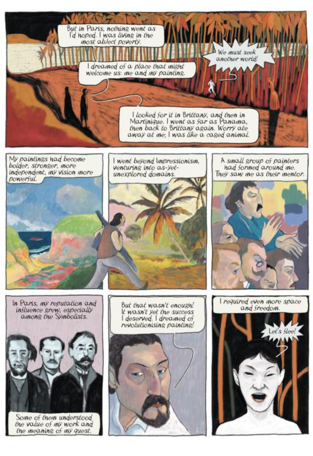 Gauguin graphic novel review