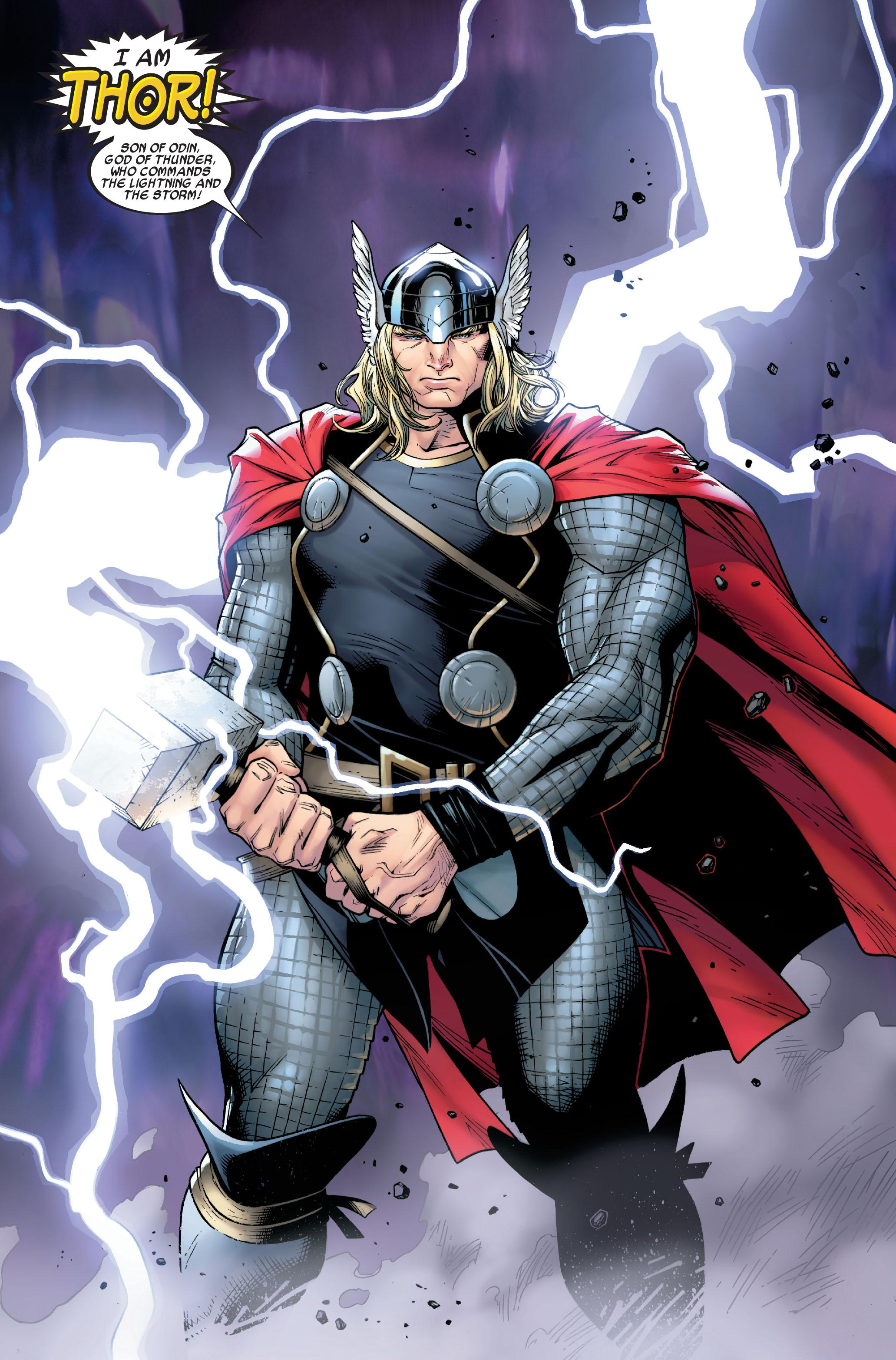 Thor By J. Michael Straczynski Vol. 01 review