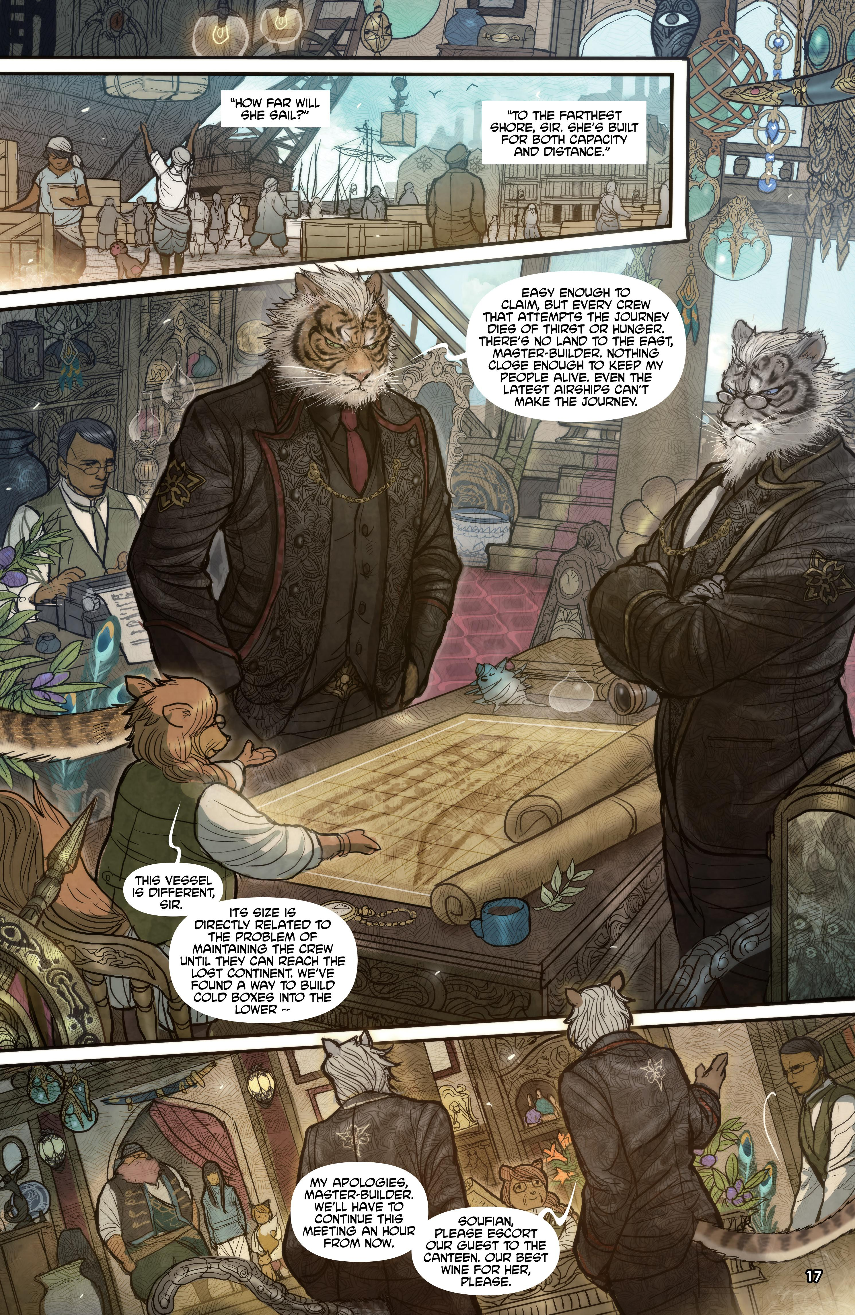 Monstress The Blood review