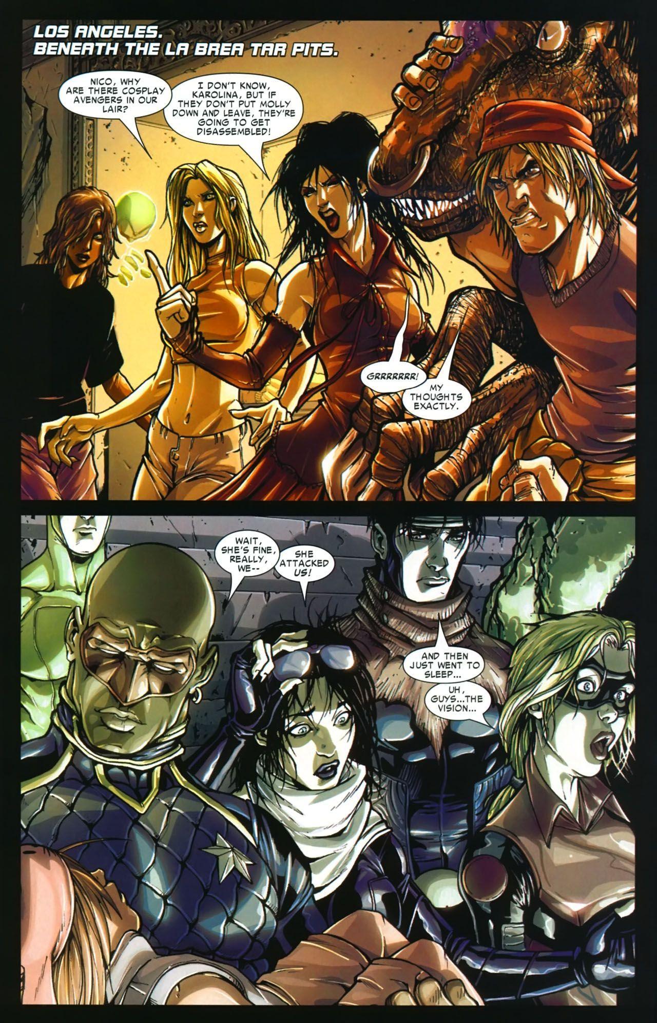Young Avengers Runaways Civil War review
