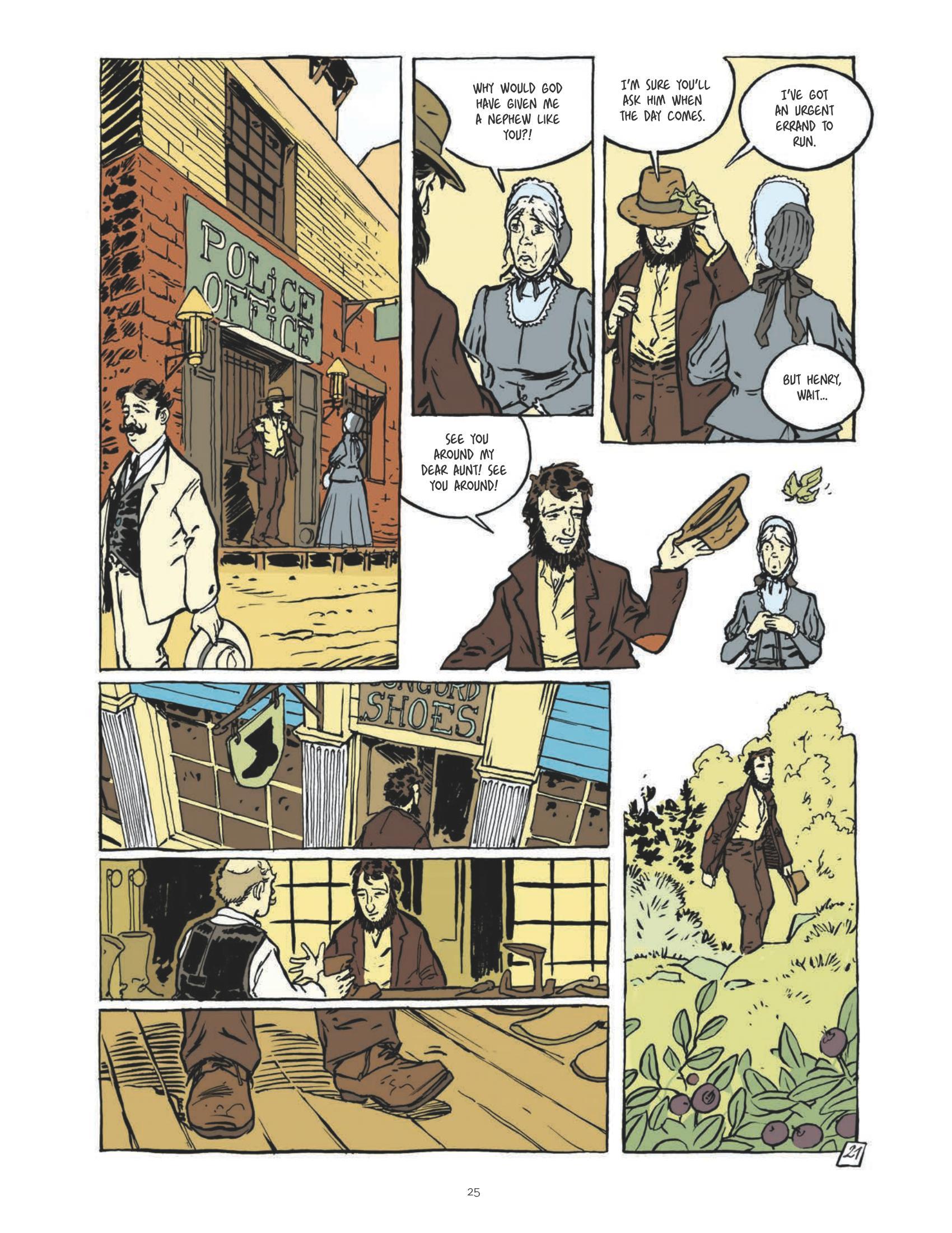 Thoreau graphic novel review