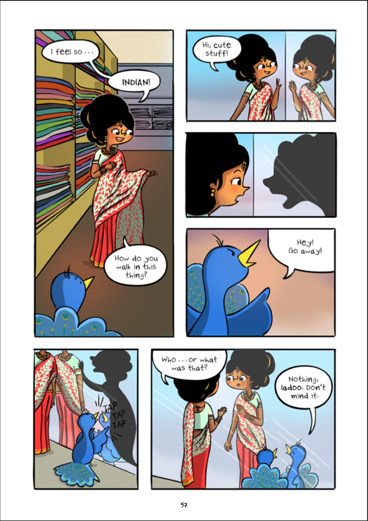 Pashmina graphic novel review