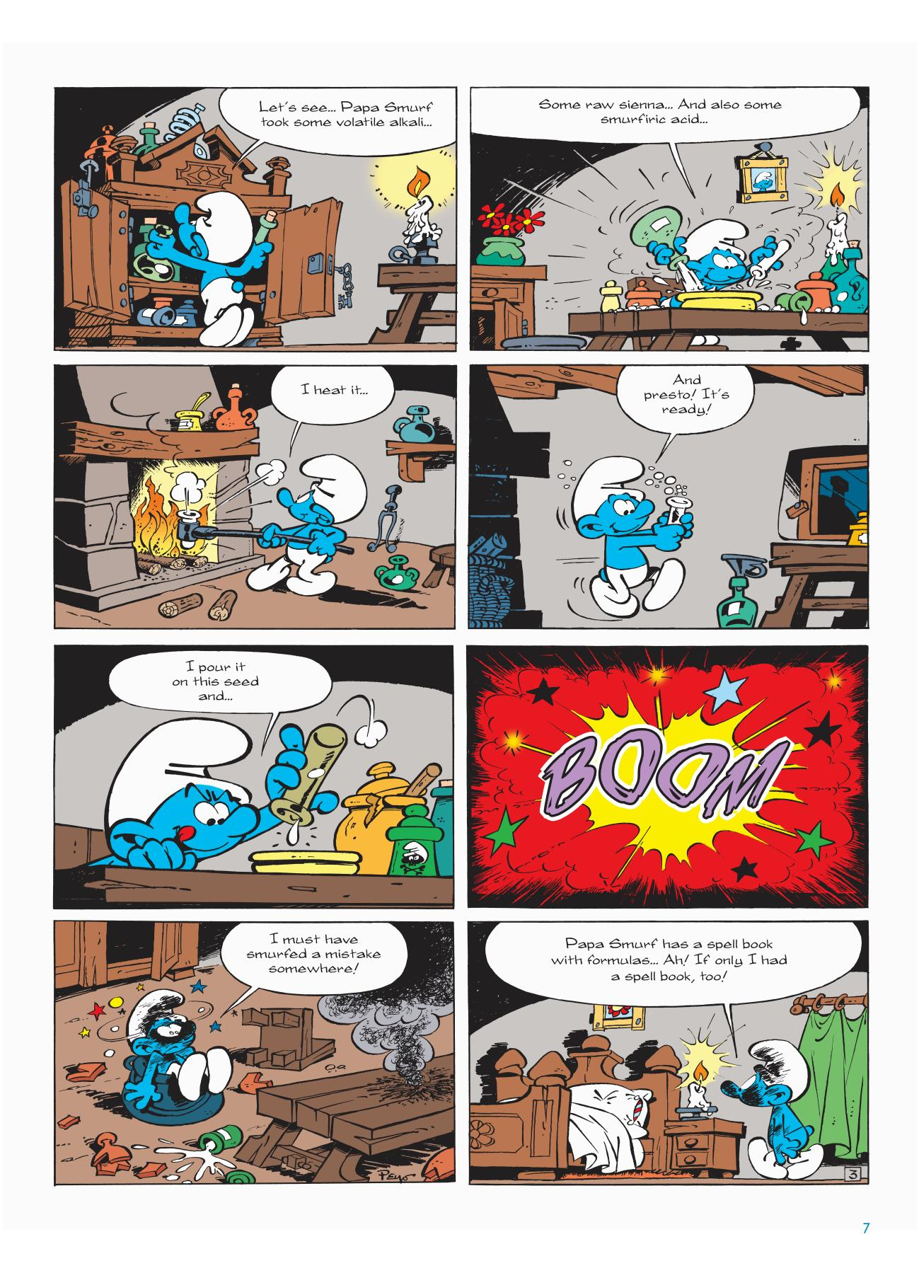 The Smurf Apprentice review