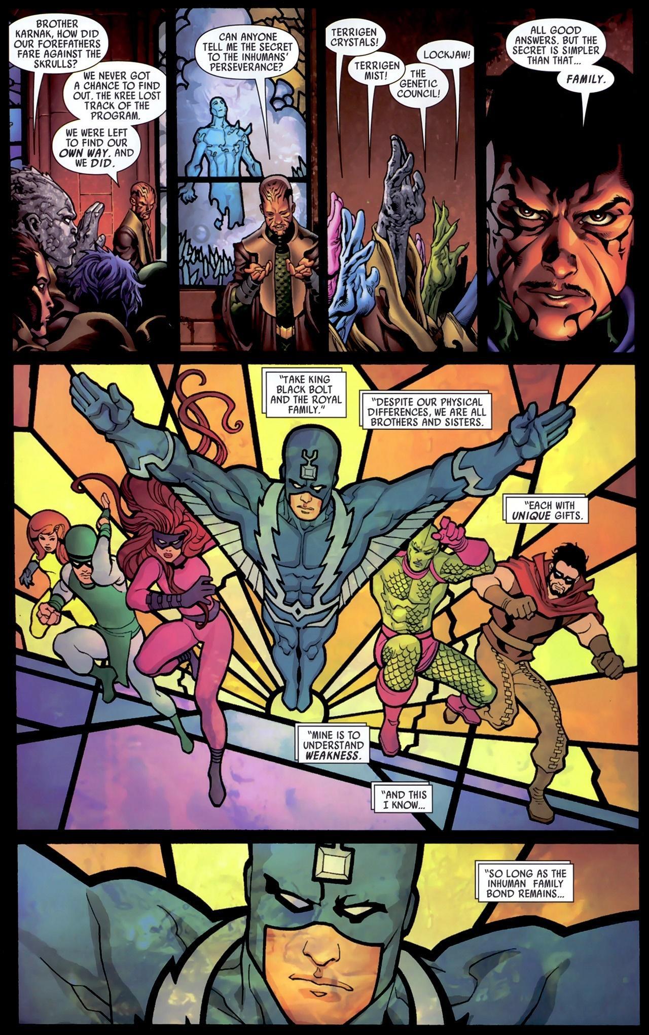 Inhumans Secret Invasion review