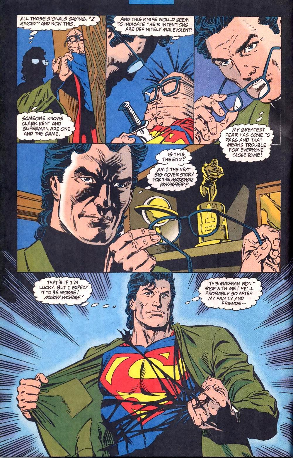 Superman The Death of Clark Kent review