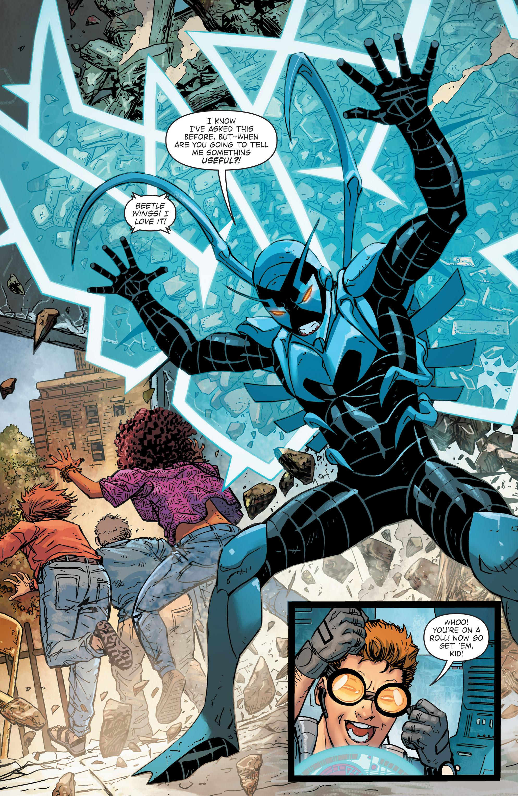 Blue Beetle The More Things change review