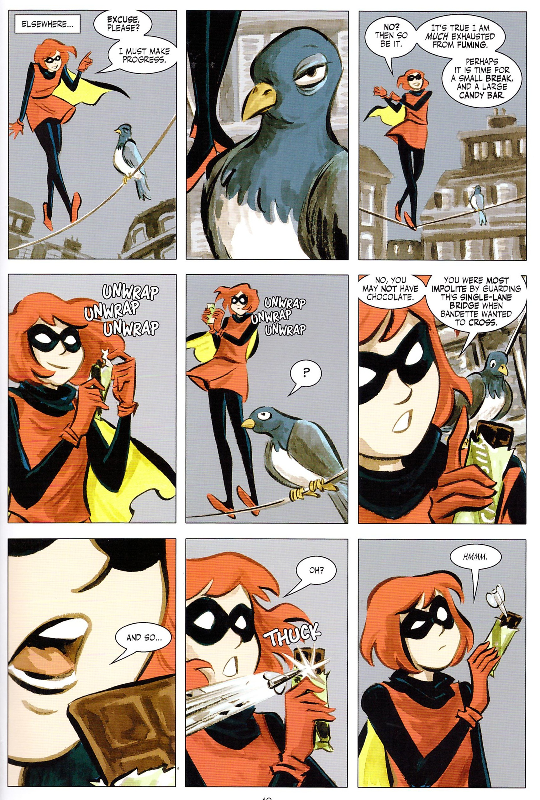 Bandette The House of the Green Mask review