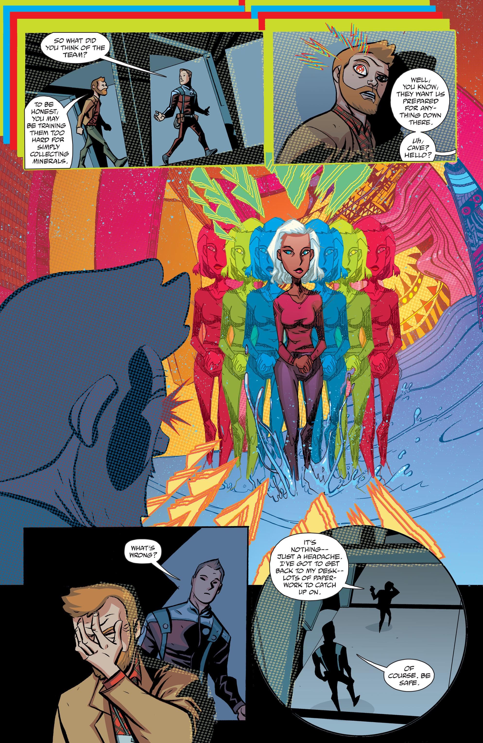 Cave Carson Has a Cybernetic Eye V1 review