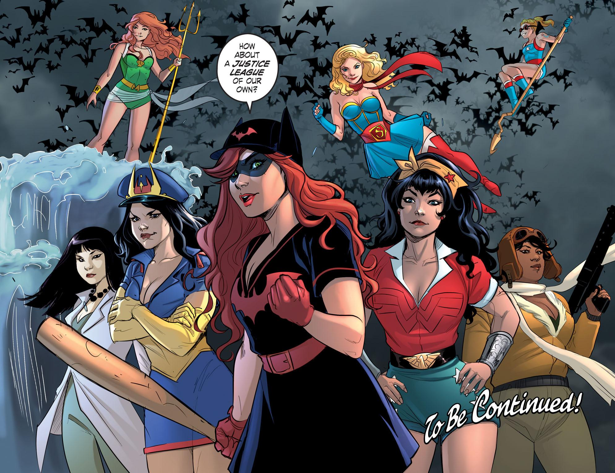 DC Comics Bombshells Allies review