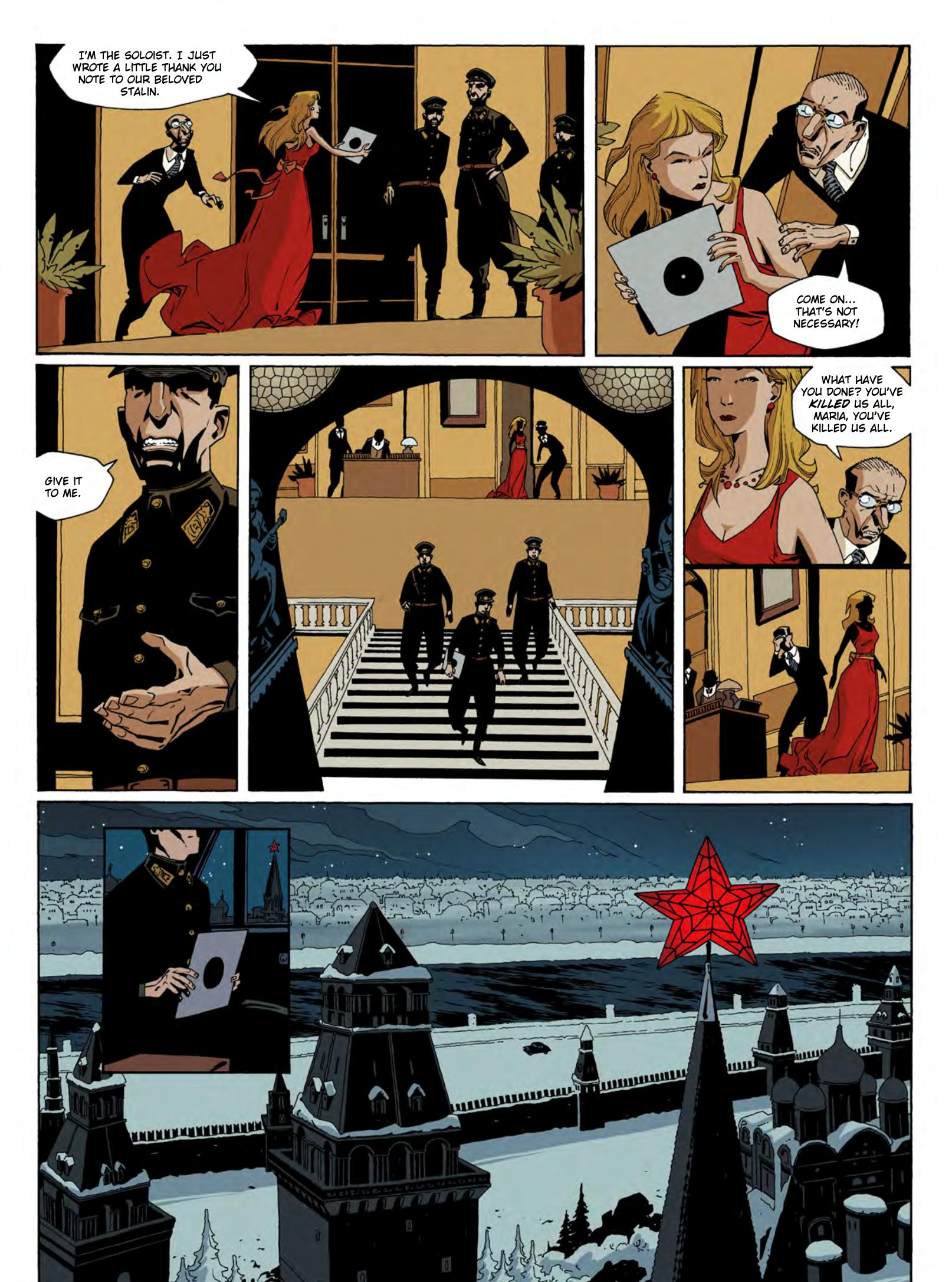 The Death of Stalin graphic novel review