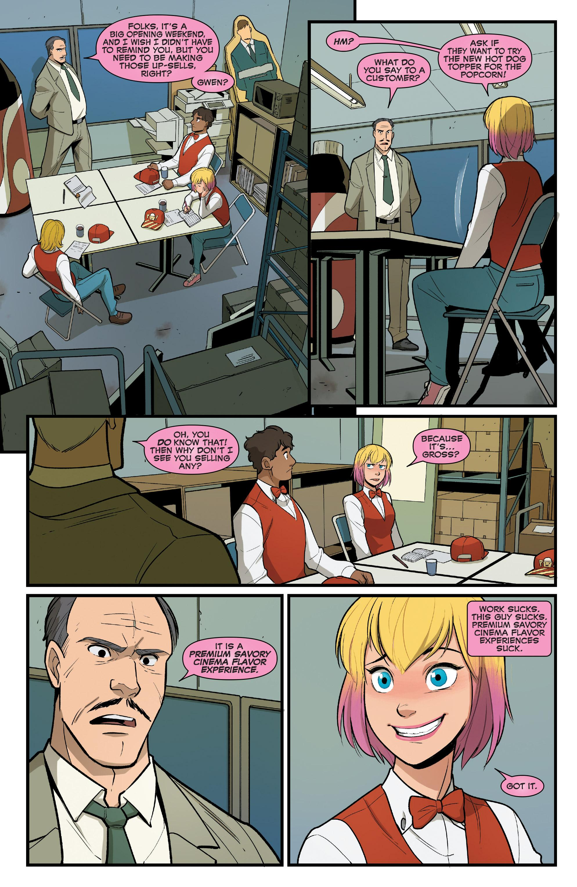 Gwenpool Beyond The Fourth Wall V4 review