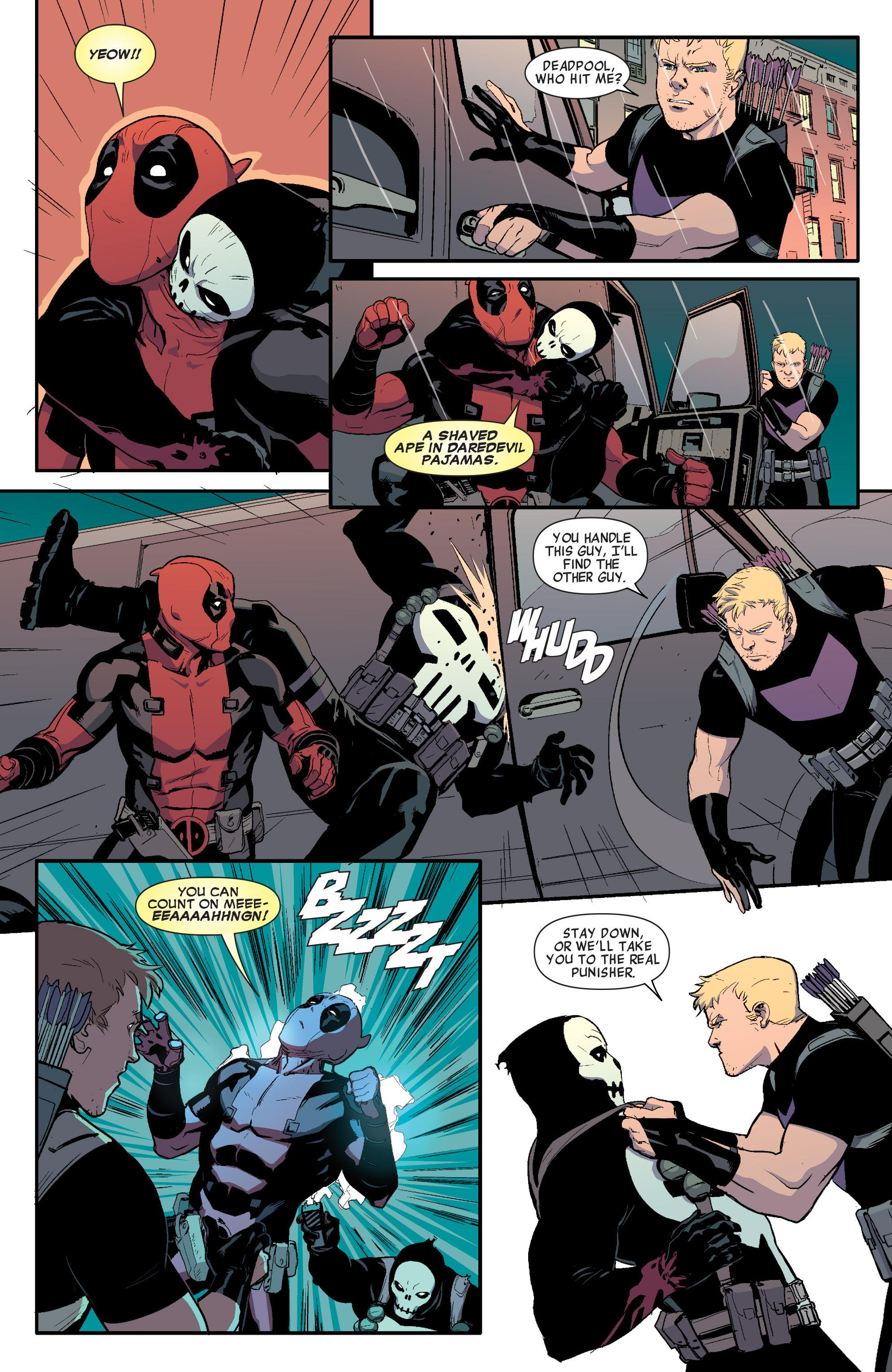 Hawkeye vs. Deadpool review