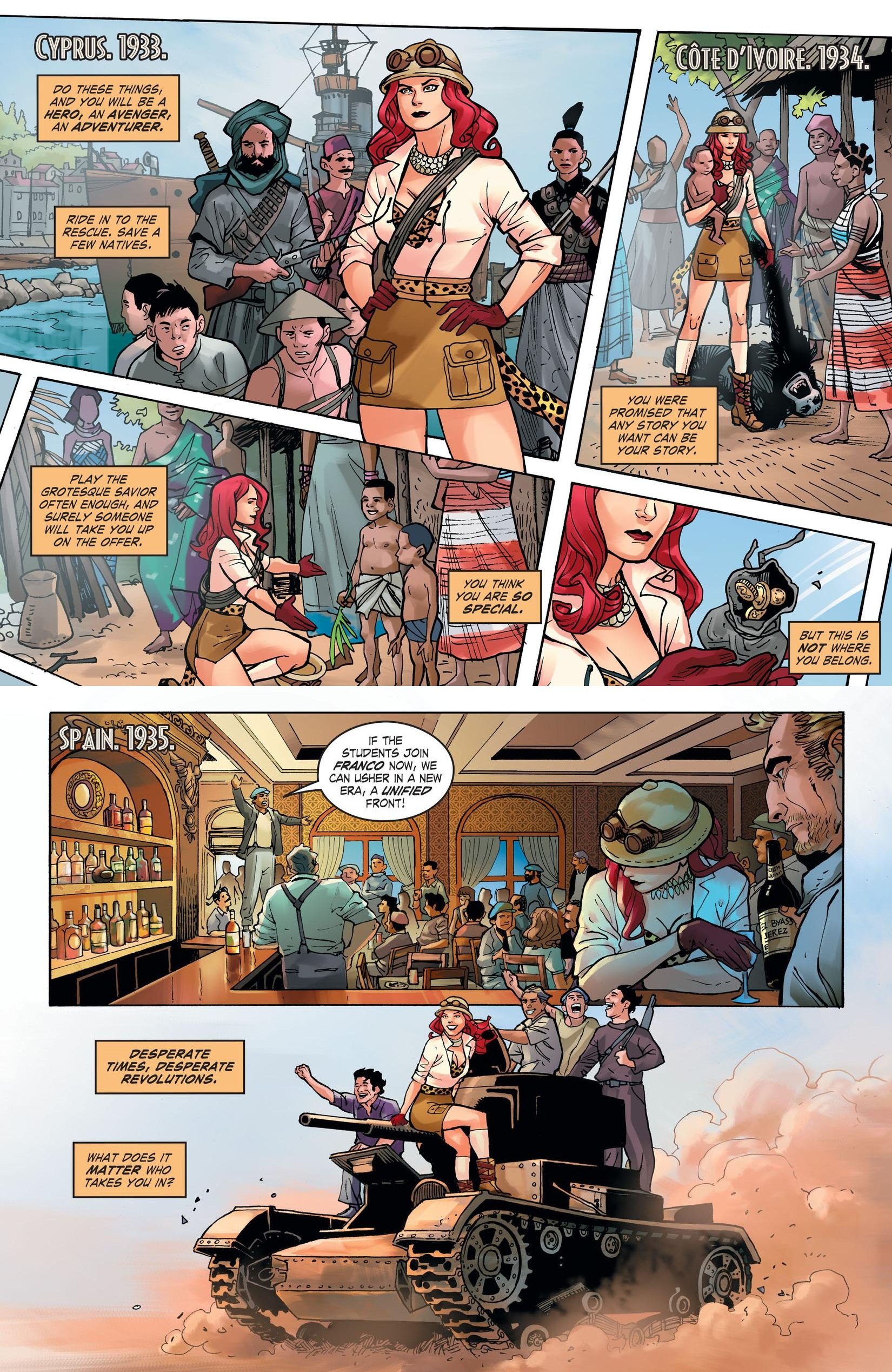 DC Comics Bombshells Queens review