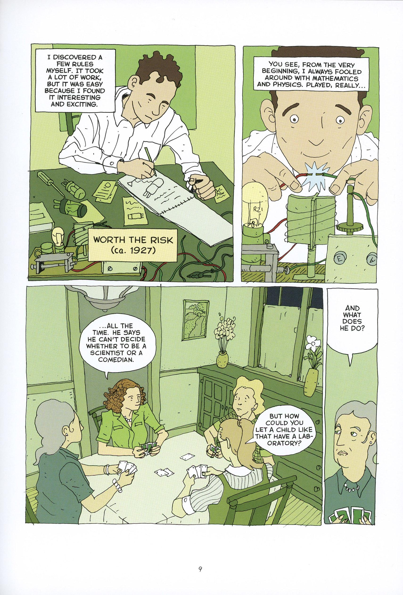 Feynman graphic novel review