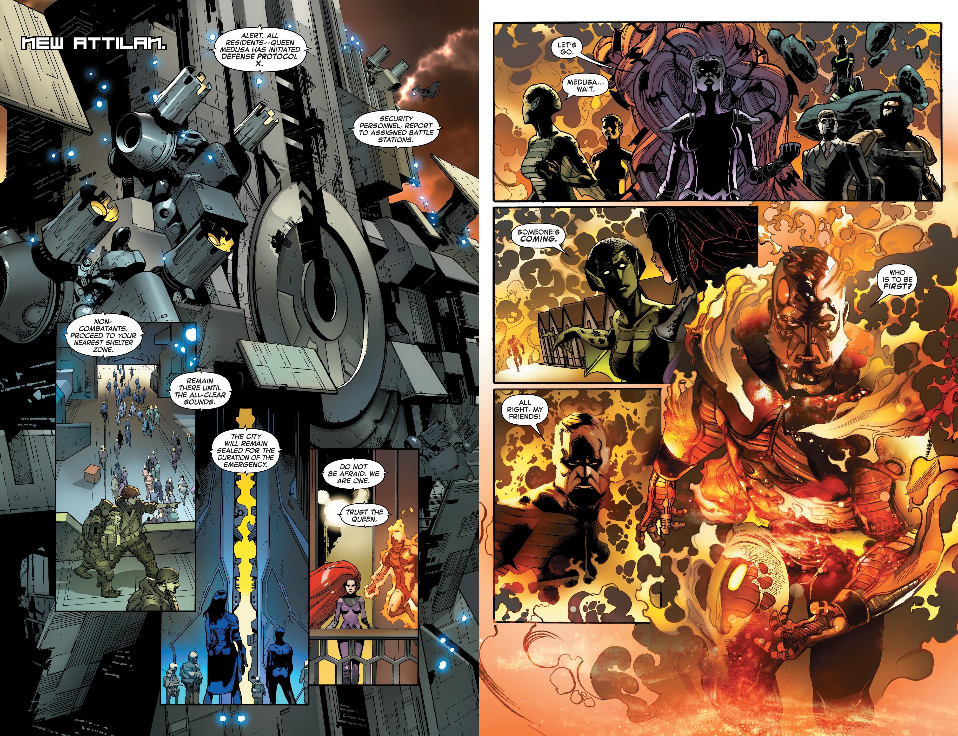 Inhumans vs X-Men review