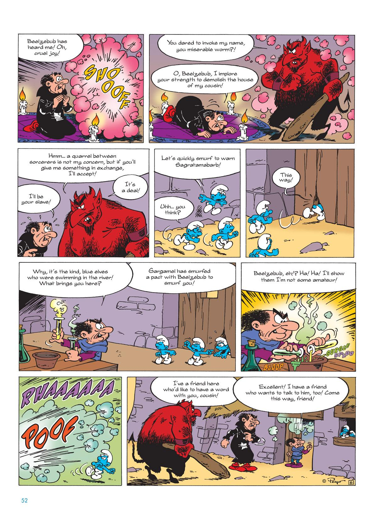 Gargamel and the Smurfs review