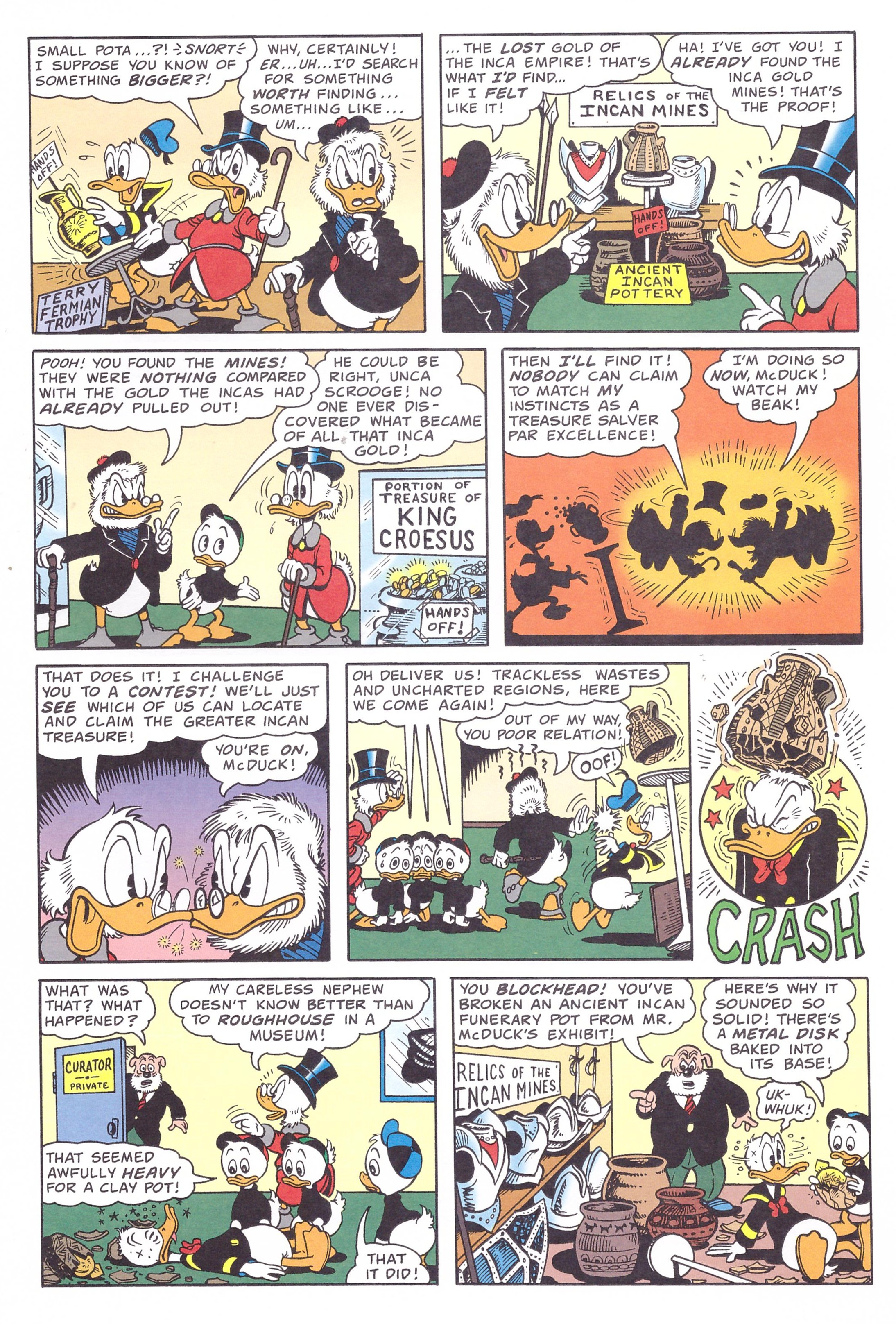 Uncle Scrooge Adventures by Don Rosa Part One review