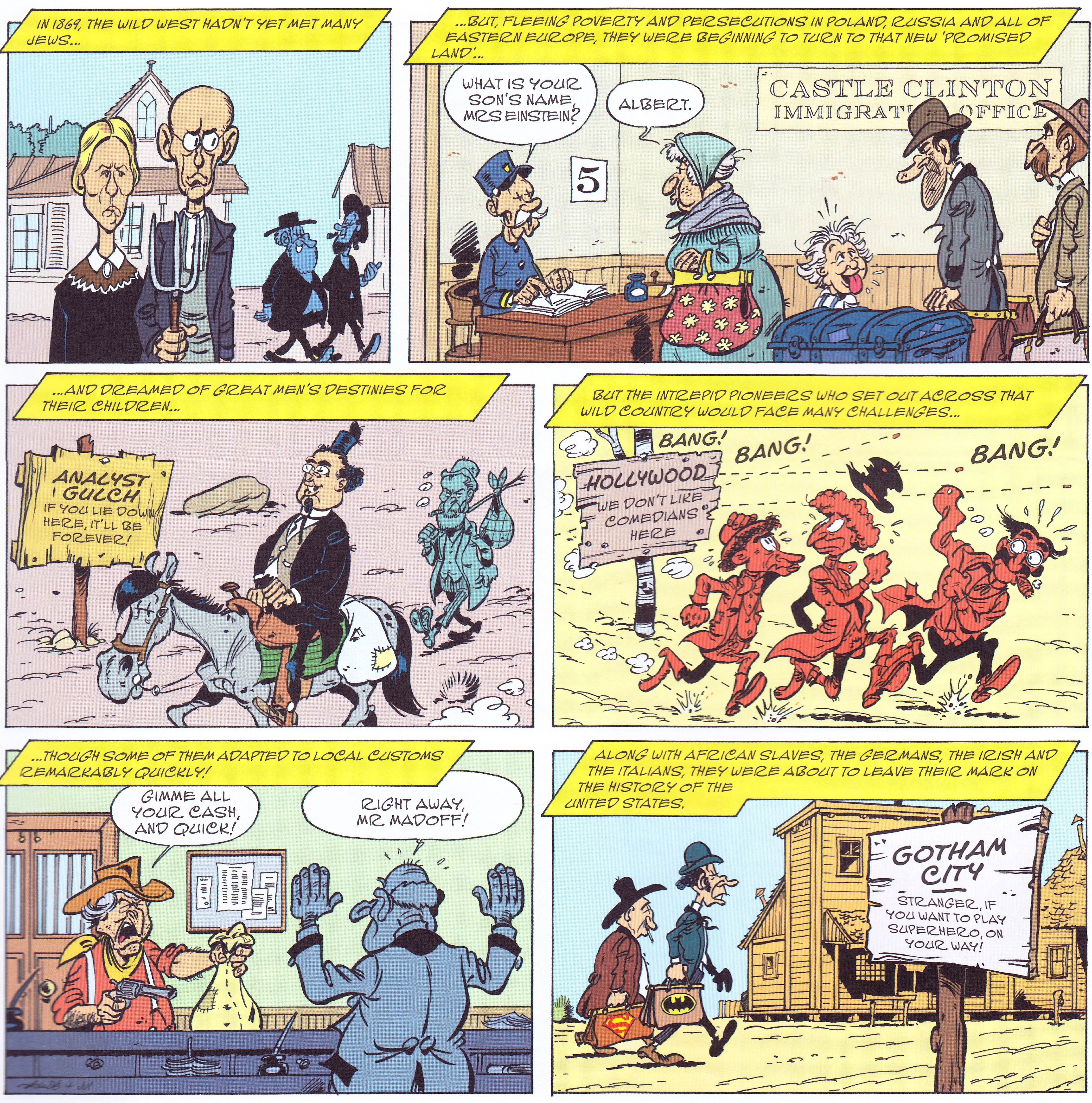 Lucky Luke The Promised Land Review