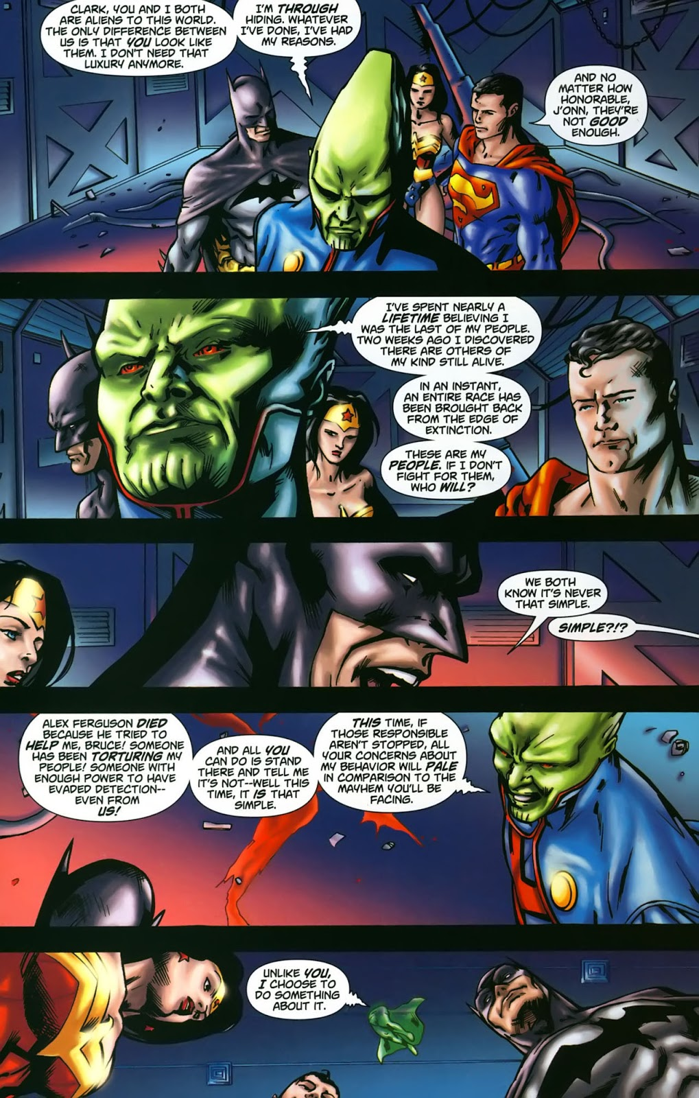 Martian Manhunter The Others Among Us review