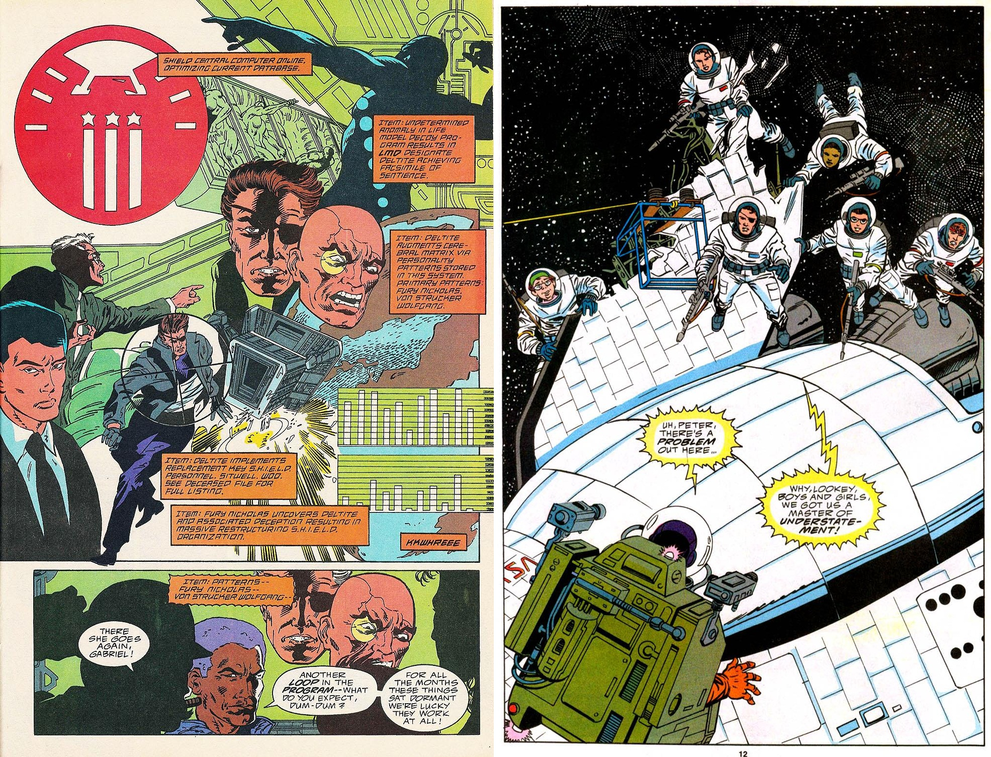 Nick Fury Agent of Shield Classic V2 int