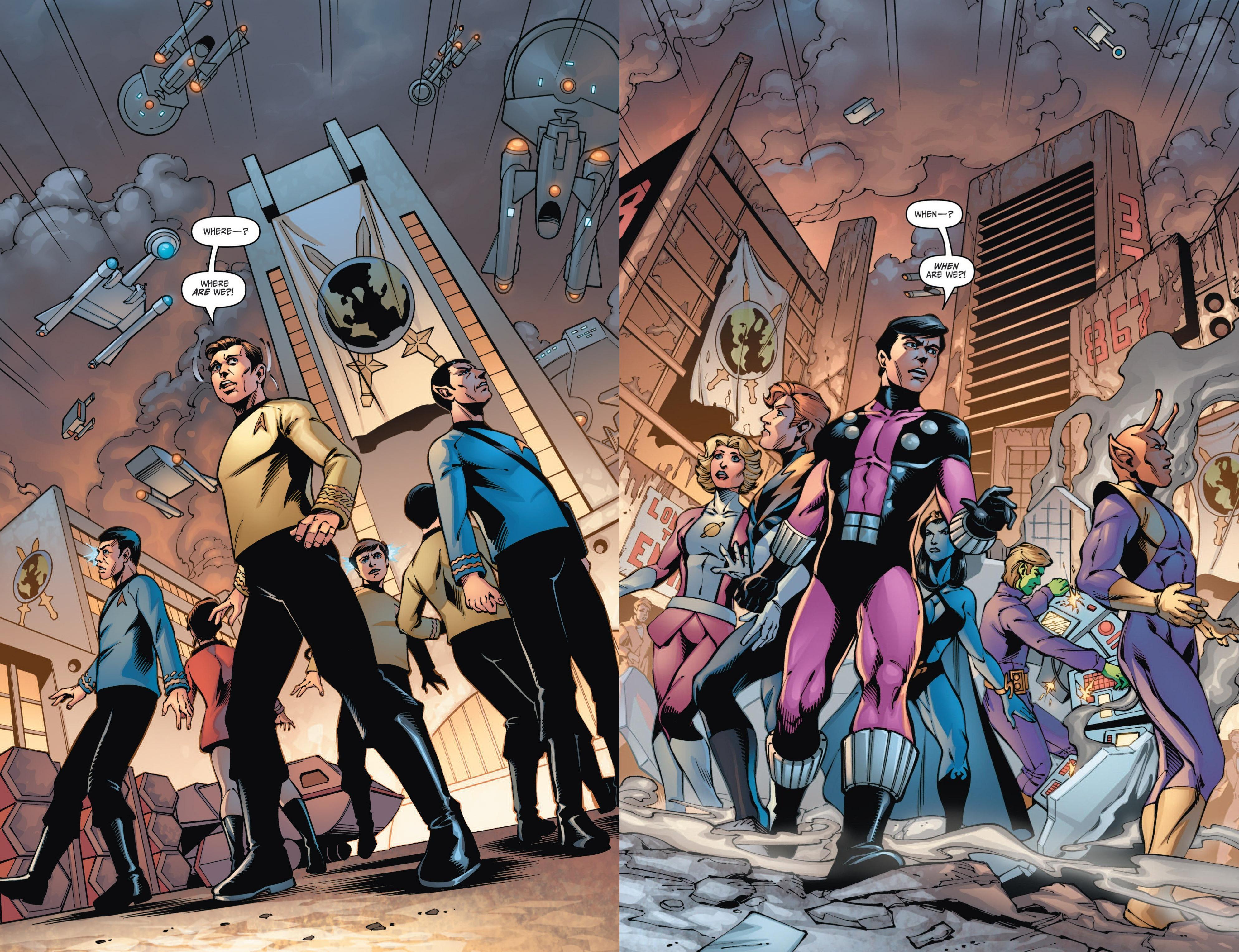 Star Trek - Legion of Super-Heroes review